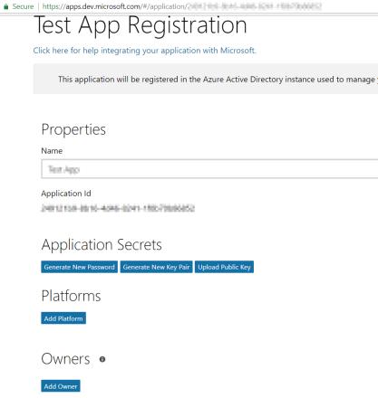 GraphAppRegistrationScreen1
