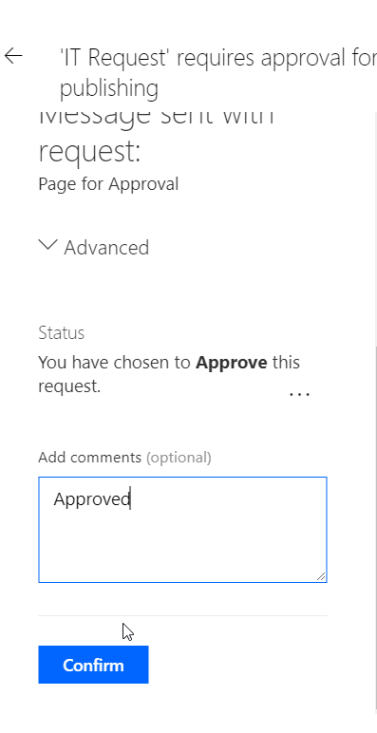 PageApproval_Approved