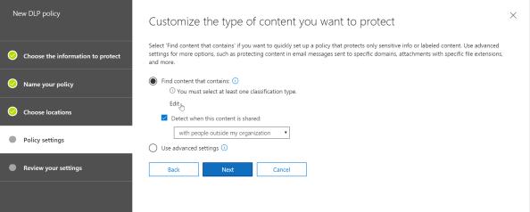 SecurityAndCompliance_DLPPolicyAddContentType