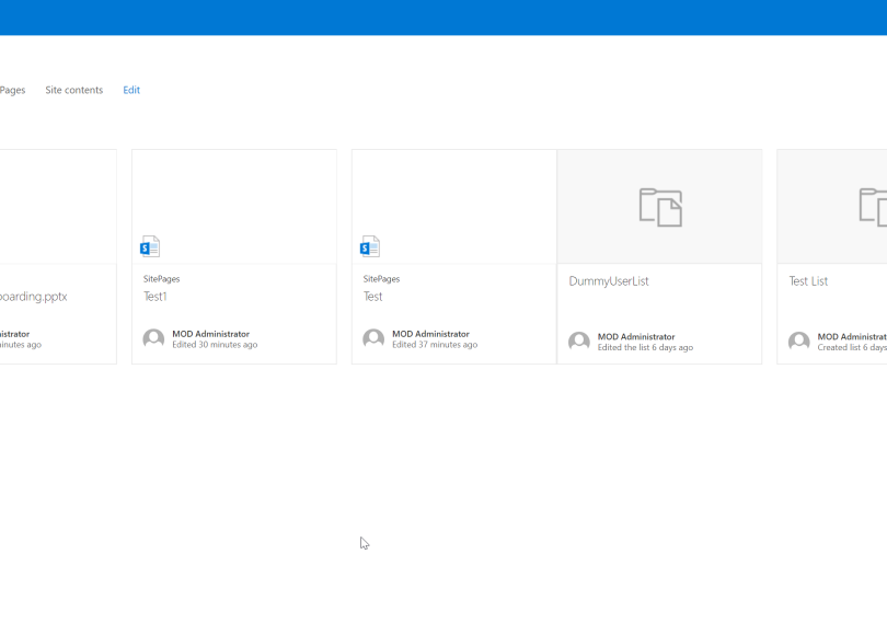 SharePoint Modern Sites hacktips – Manage Client-Side Pages via PnP