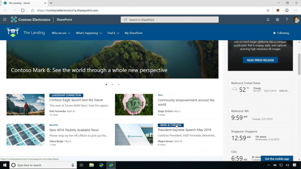 Wow!! Updates from SharePoint conference 2019 #SPC19
